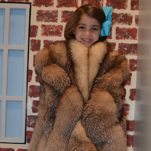 Crystal Fox Fur Coat Ticket