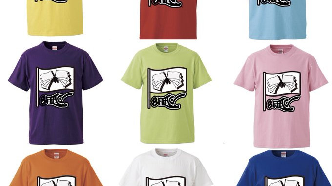 8FLAGオリジナルカラーTシャツ