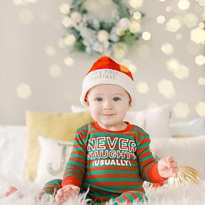 Hudson's First Christmas
