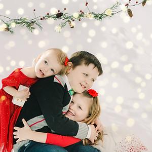 Ben, Hannah and Emily: Christmas 2019