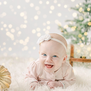 Aubree's First Christmas