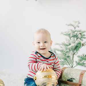 Theo's First Christmas