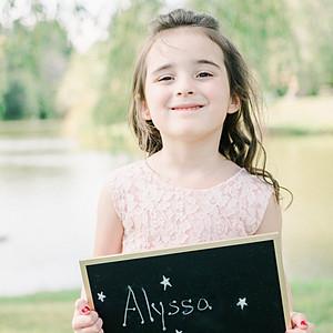 Alyssa: Pre Primary