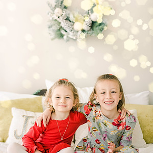 Emmy and Abby: Christmas 2019
