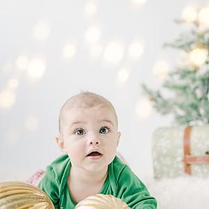 Henrik's Baby Group Christmas