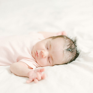 Anabelle: One Month Birthday