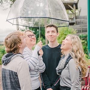 Under Mom's Umbrella