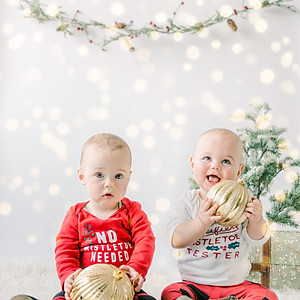 Farley's and Jasper's First Christmas