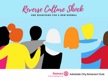 Reverse Culture Shock and Searching for a New Normal