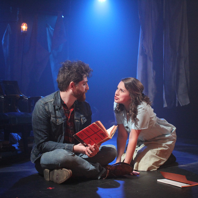 Noah Laufer and Sofia Tew