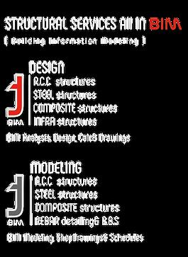 R.C.C  structures STEEL structures COMPOSITE structures INFRA structures R.C.C  structures STEEL structures COMPOSITE structures REBAR detailing& B.B.S BIM DESIGN MODELING