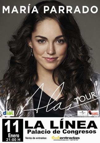 """MARÍA PARRADO """"TOUR ALAS"""""""