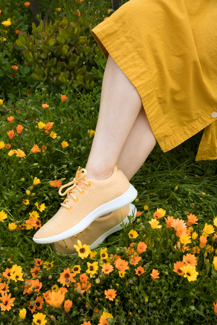 yellow allbirds