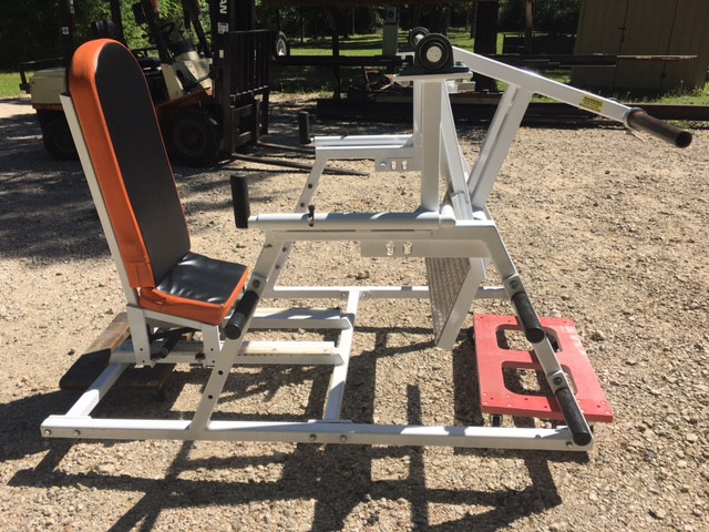 Early Pendulum Hip Press - not for sale