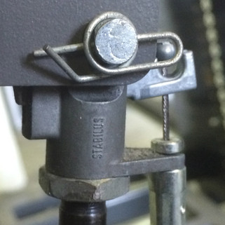 Close up of 2st Seat Cylinder