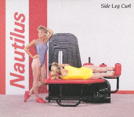 Side Leg Curl 62x37x58 500lbs.