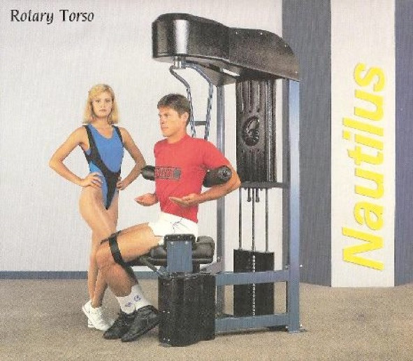 Rotary Torso II 52x36x83 546lbs.