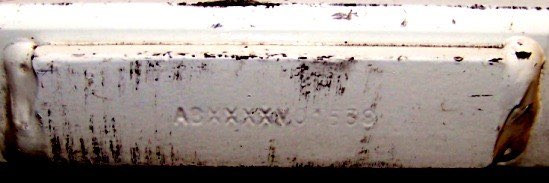 Another example of an early serial number