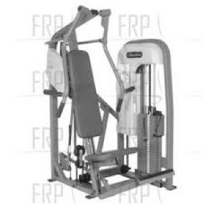 "Vertical Chest Press 59.5""x47.5"""