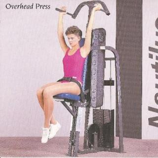 Overhead Press II 45x26x59 476lbs.