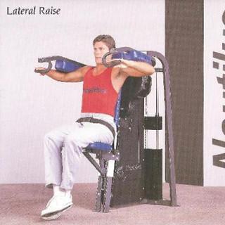 Lateral Raise II 47x30x59 475lbs.