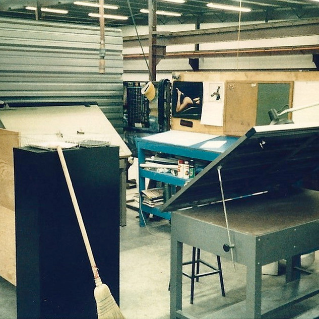 Prototype shop - This is where I worked.