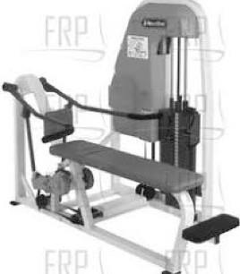 Bench Press 61x76x47 600lbs.
