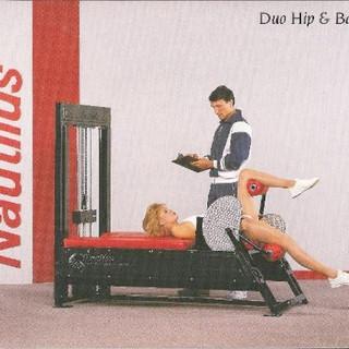 Duo Hip & Back 73x42x64 709lbs.
