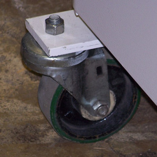 Heavy duty casters (once used by Nautilus)