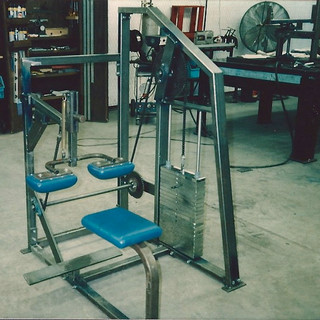 Selectorized Seated Calf - never made it into production