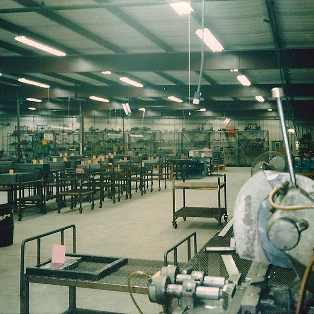 Cold Saw - Cutting Department