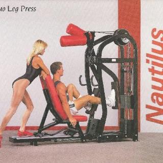 Duo Leg Press 88x25x82 1260lbs.