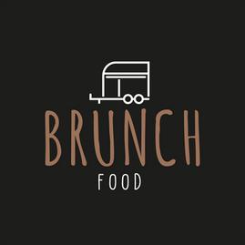 Logo Brunch food