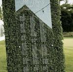 panneau plexis fond mur vegetal