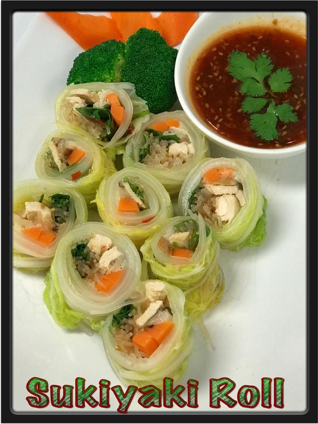 Sukiyaki Roll