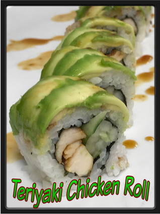 Teriyaki Chicken Roll