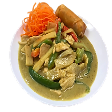 Green Curry - Spring Roll