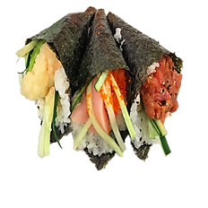 Spicy Hand Roll Combo