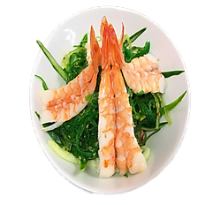 Sunomono Salad with Ebi Shrimp
