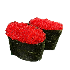Red Tobigo (Flying Fish Roe) - Nigiri Sushi