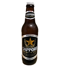 Sapporo 12oz bottle, Japan