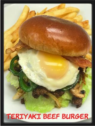 Teriyaki Beef Burger
