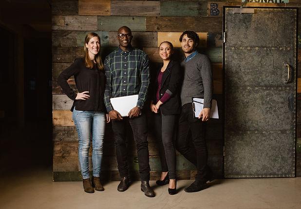 Portrait Of Successful Business Team Sta