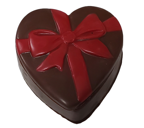 Chocolate Heart Box - Unfilled