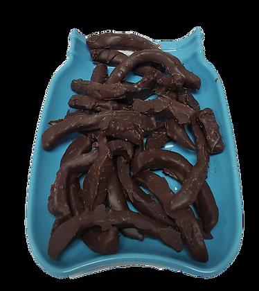 1/4 lb Dark Chocolate Covered Lemon Peel
