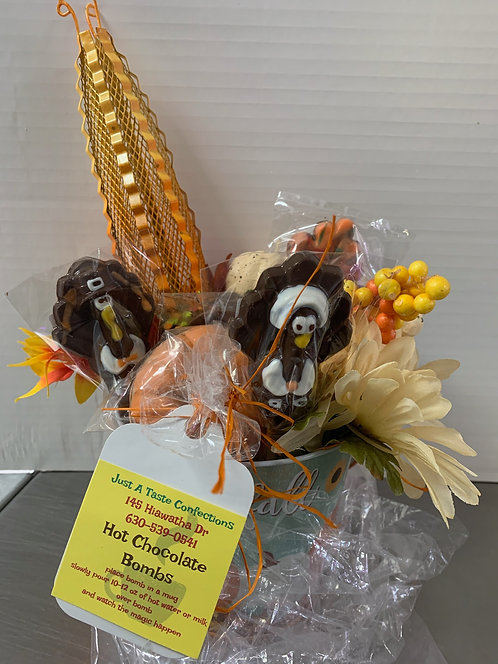 Thanksgiving Chocolate Centerpiece