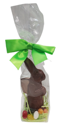 Small Solid Chocolate Easter Bunny