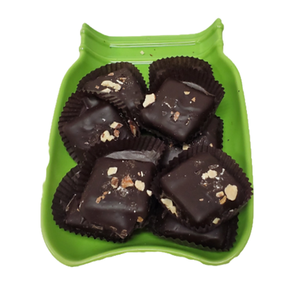 1/4 lb Dark Chocolate Almond Toffee
