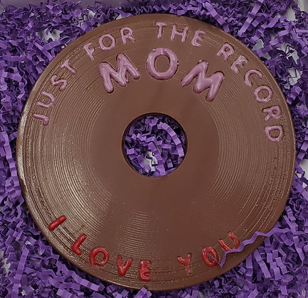 JUST FOR THE RECORD MOM Gift Box