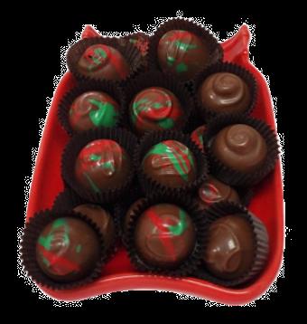 1/4 lb Milk Chocolate Strawberry